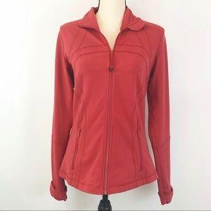 Lululemon Define Jacket Fireside Red -Size 10